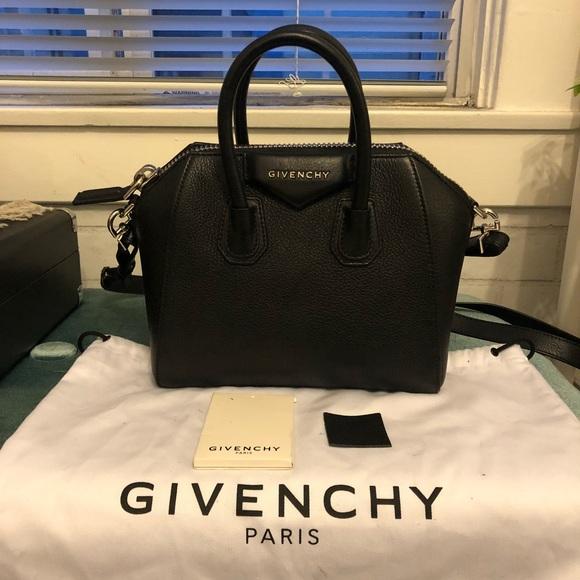ae4be60411 Givenchy Handbags - Givenchy Mini Antigona Bag- Black